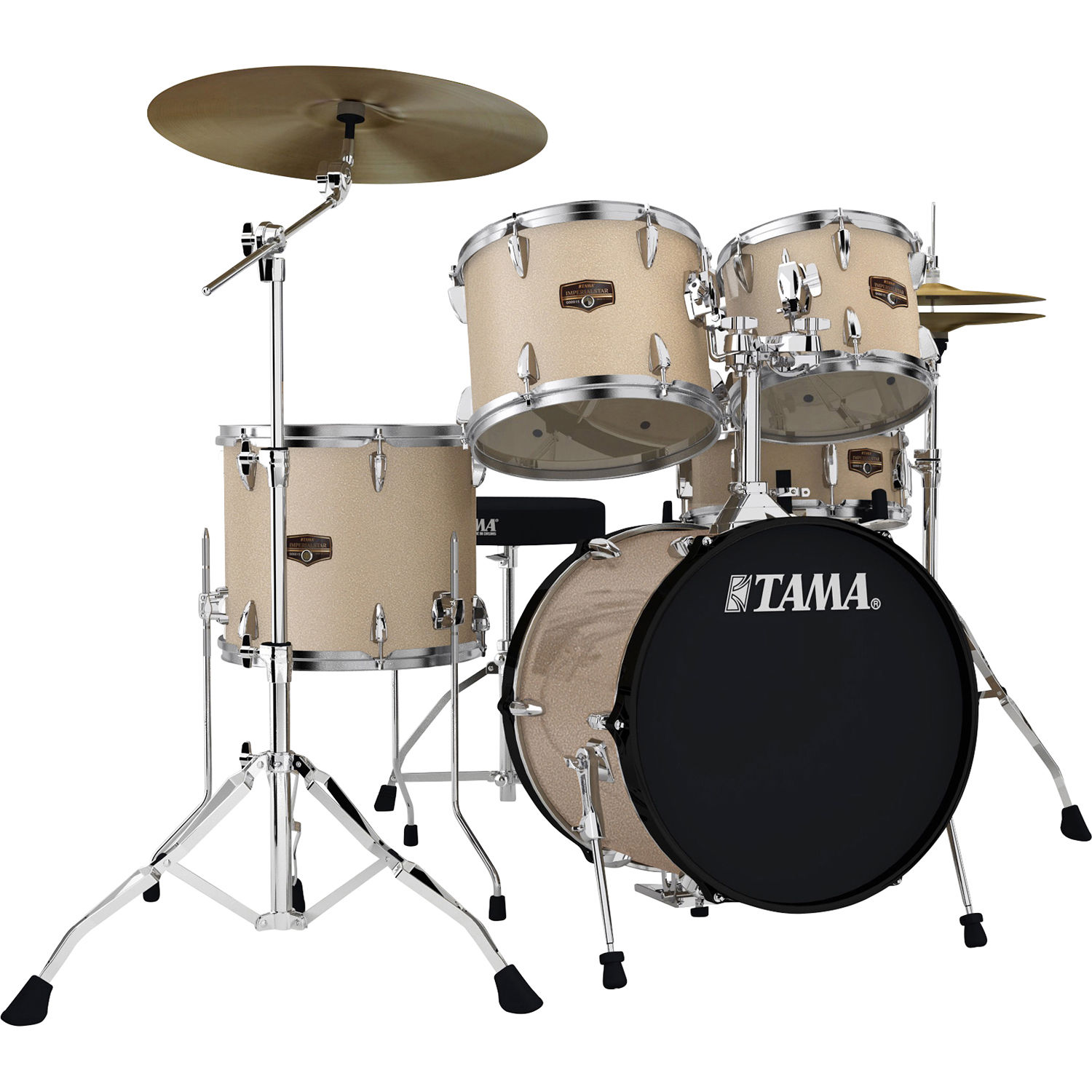 Tama Ip58ncchm Imperialstar 5 Piece Drum Set Ip58ncchm B H Photo