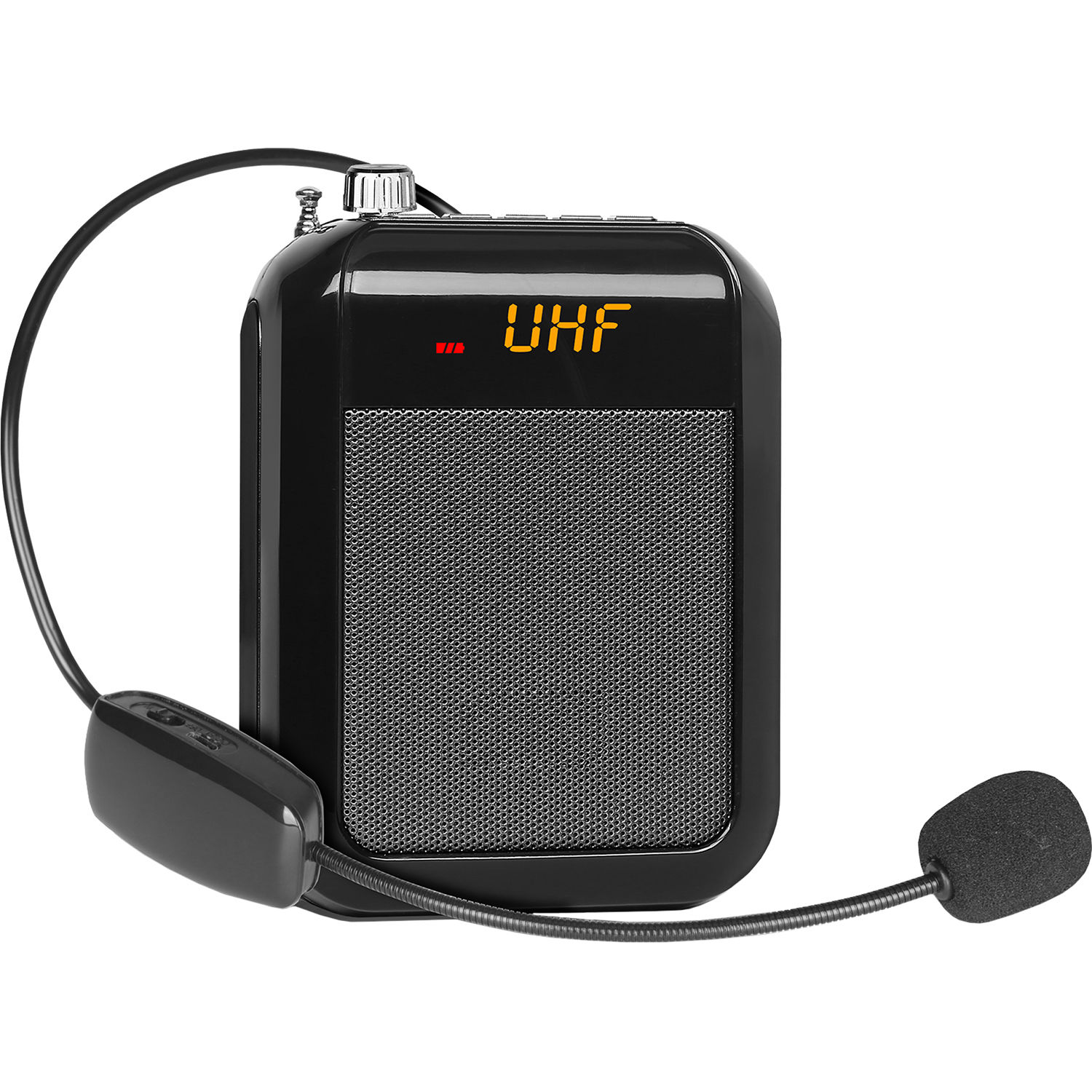 Technical Pro WASP10U Rechargeable Speaker with Wireless UHF Headset Mic