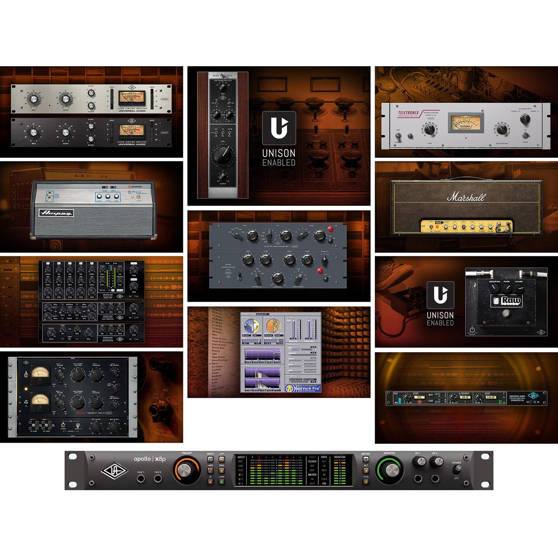 universal audio apollo x8p rack mountable thunderbolt 3 apx8p. Black Bedroom Furniture Sets. Home Design Ideas