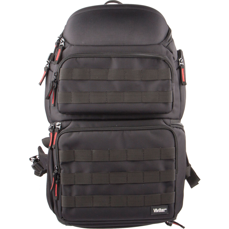 Vivitar Backpack for DSLR Camera Camcorder (Black) VIV-DKS-62 369bdeef8968e
