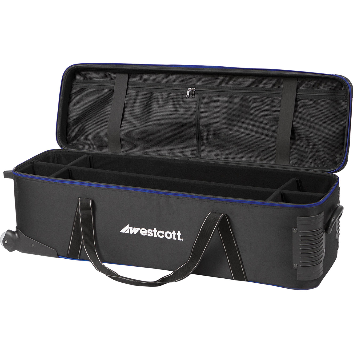 Westcott Deluxe Wheeled Travel Bag (Black) 4211N B&H Photo Video