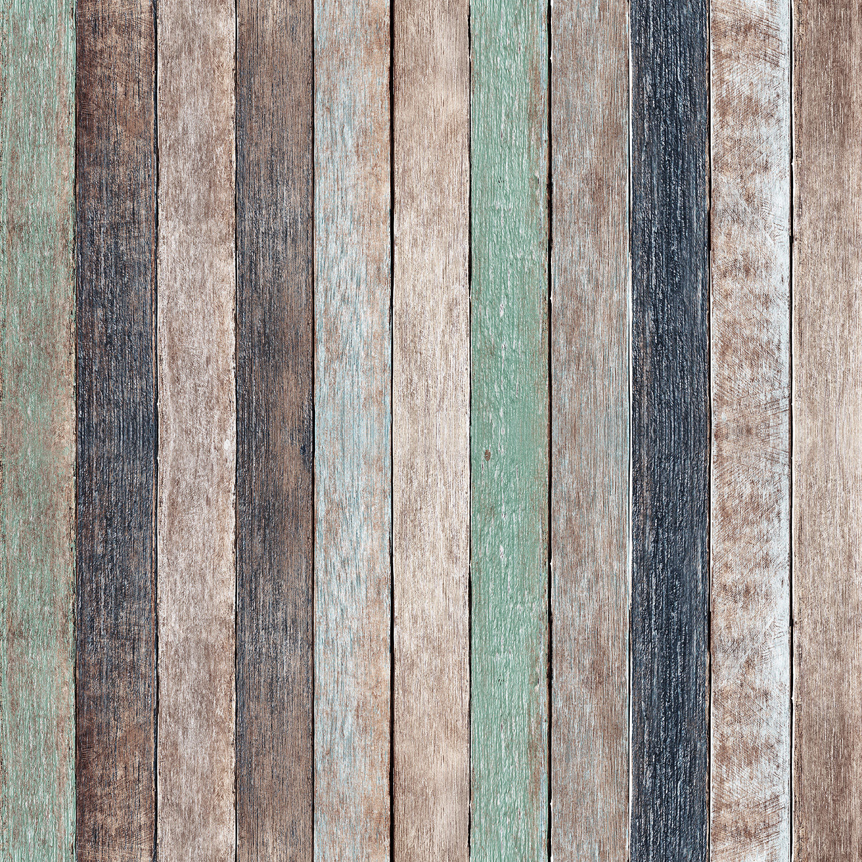 Westcott Rustic Wood Pattern Art Canvas D0066 43x43 Cv Br B Amp H