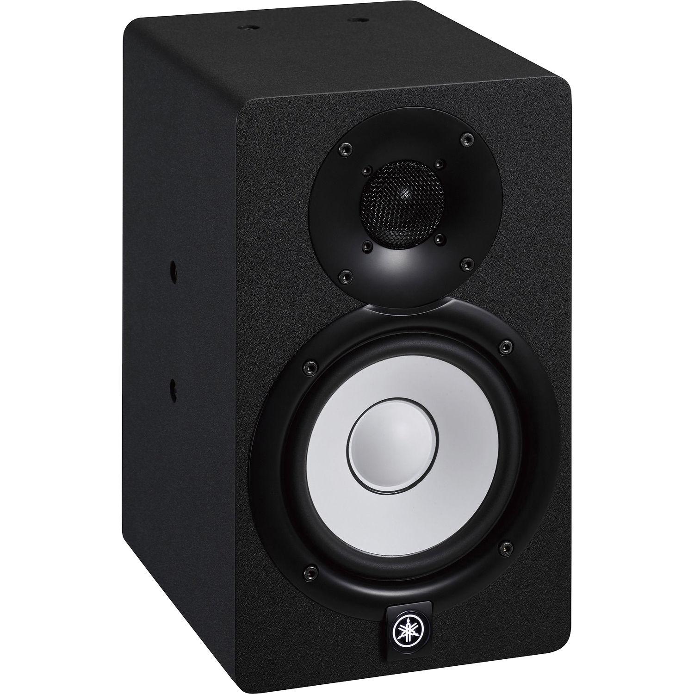 yamaha hs5i 2 way bi amped powered studio monitor black hs5i. Black Bedroom Furniture Sets. Home Design Ideas