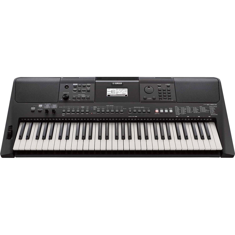 yamaha psr e463 61 key touch response portable keyboard psre463. Black Bedroom Furniture Sets. Home Design Ideas