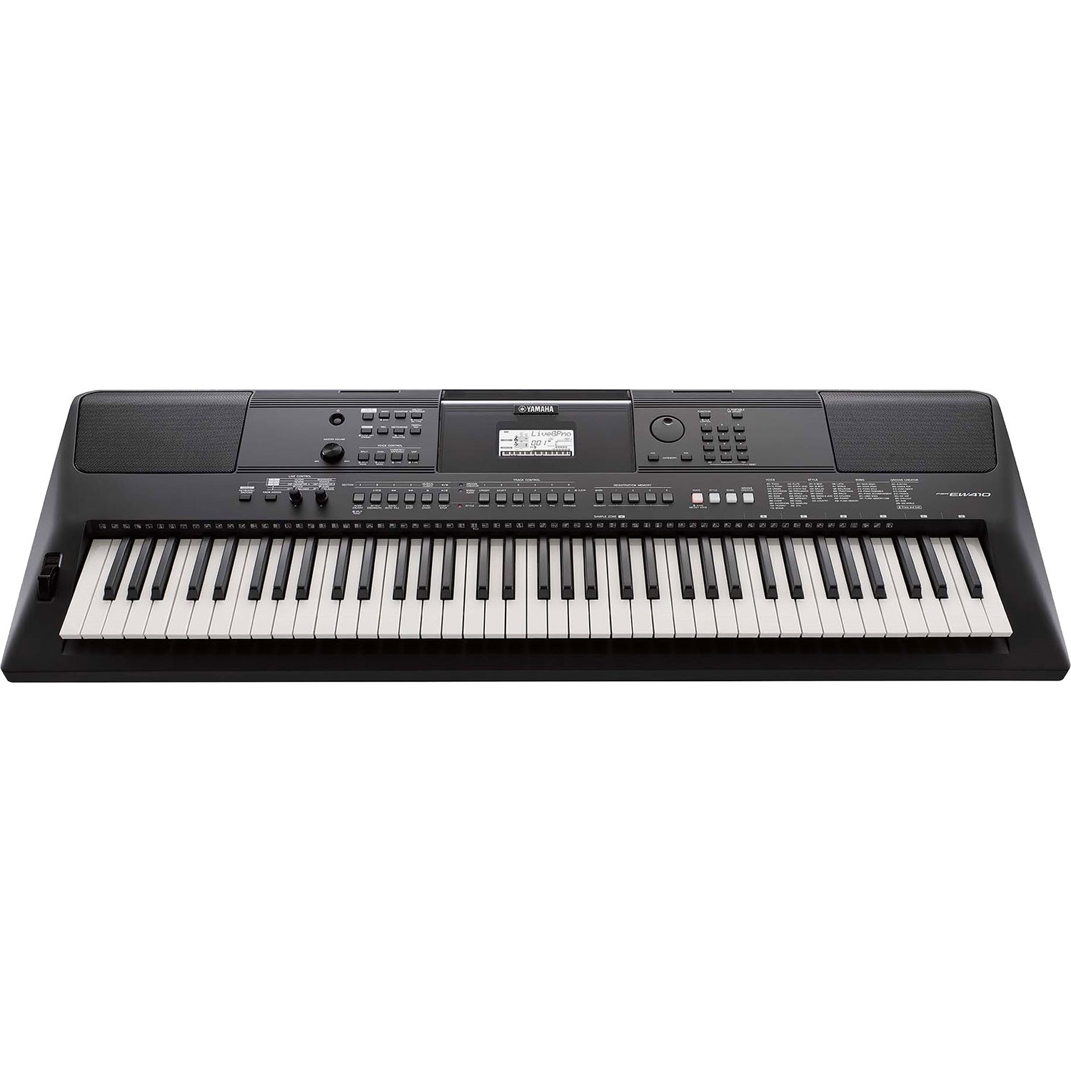 yamaha psr ew410 76 key portable keyboard psrew410 b h photo rh bhphotovideo com Clip Art User Guide Example User Guide
