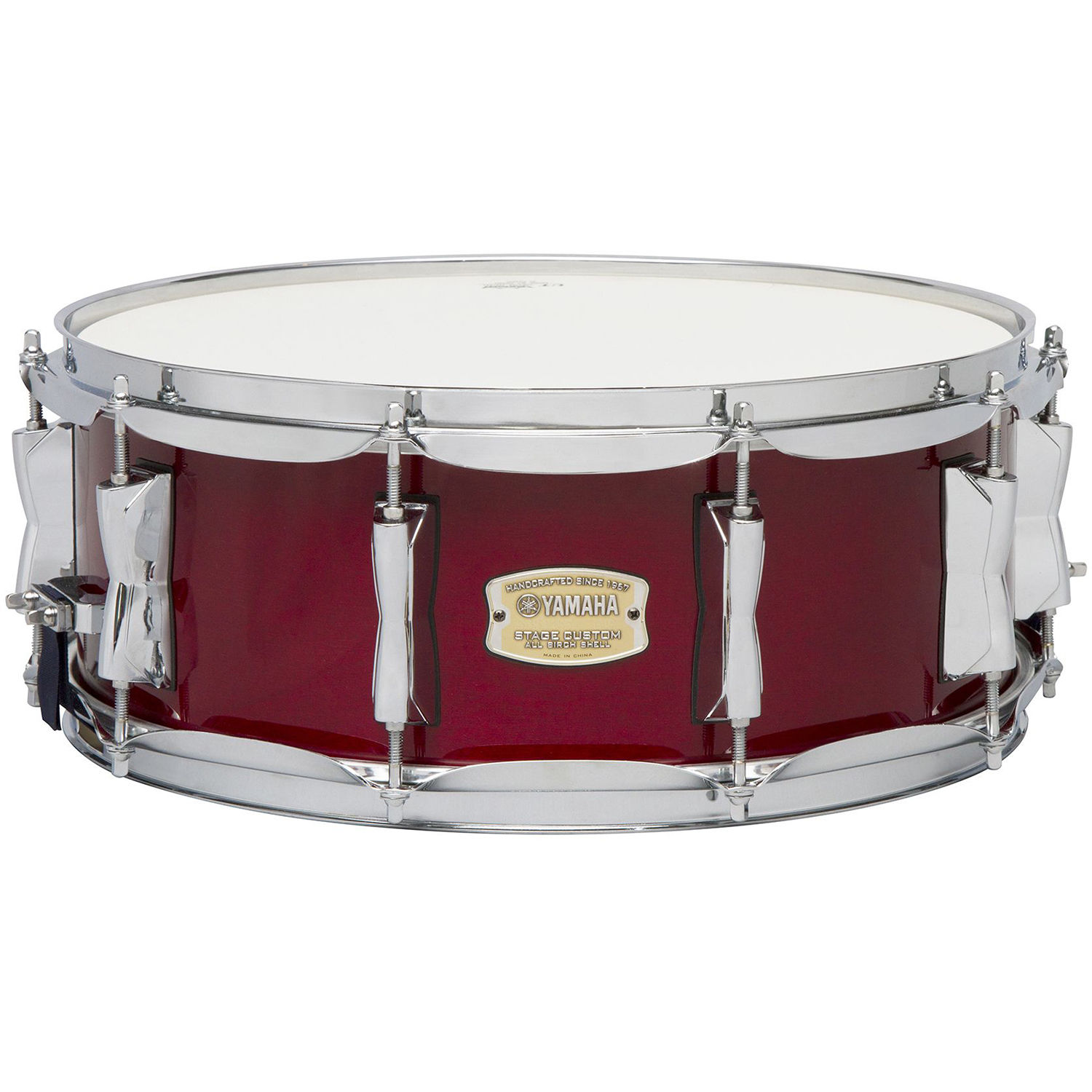 Yamaha Sbs1455cr Stage Custom Birch Snare Sbs 1455 Cr Bh Photo Compass Wiring Cranberry Red