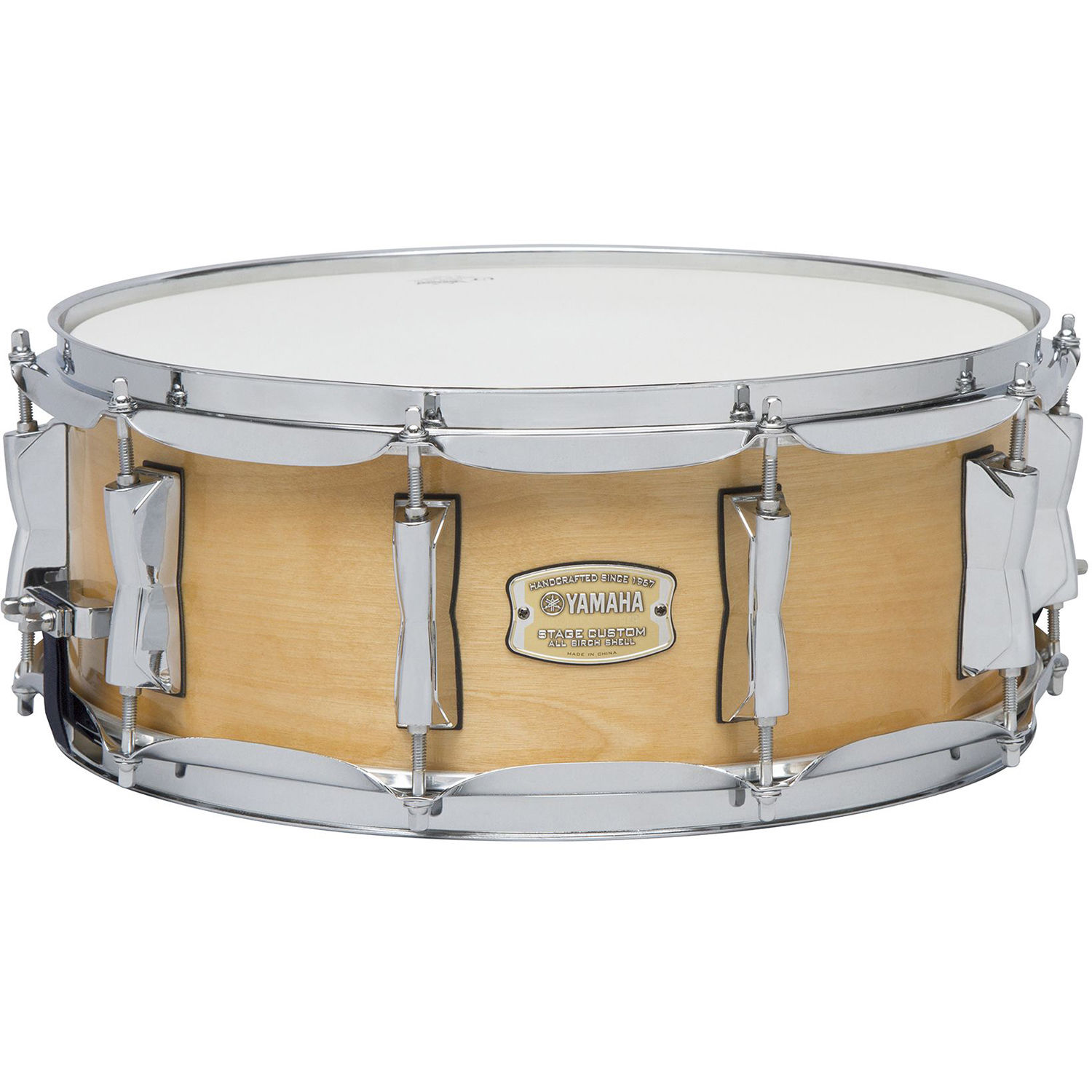 yamaha sbs1455nw stage custom birch snare sbs 1455nw b h photo. Black Bedroom Furniture Sets. Home Design Ideas