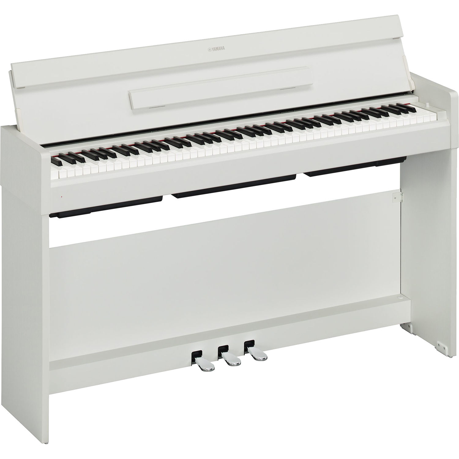yamaha arius ydp s34 digital piano white walnut ydps34wh b h. Black Bedroom Furniture Sets. Home Design Ideas