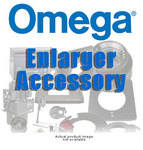 "Omega 1"" Cup Lens Plate for D5500 Enlarger (Accepts 32.5mm Threaded Lenses)"