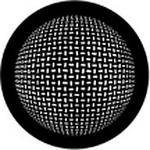 Rosco Standard Steel Gobo #78445B Grid Sphere (B = Size 86mm)