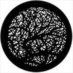 Rosco Standard Steel Gobo #78522B Thornery A (B = Size 86mm)