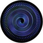 "Rosco Standard Color Glass Spectrum Gobo #86639 Blacklight Slinky (86mm = 3.4"")"
