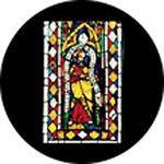 "Rosco Standard Color Glass Spectrum Gobo #86675 Comedia Stained Glass (86mm = 3.4"")"