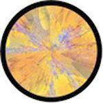 "Rosco Standard Color Glass Spectrum Gobo #86738 Klee Motif (86mm = 3.4"")"