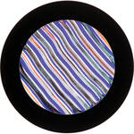 "Rosco Colorwave Effects Color Glass Gobo - #33005 - Indigo Waves (86mm = 3.4"")"