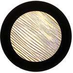"Rosco Colorwave Effects Color Glass Gobo - #33202 - Amber Strands (86mm = 3.4"")"