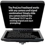 "Prompter People Proline FreeStand 17"" High Bright Teleprompter"