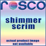 "Rosco Shimmer Scrim - 47""x 30' Roll - Black/Clear/Silver"