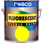 Rosco Fluorescent Paint (Yellow, Matte, 1 Quart)