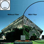 "OptiFlex 4x4"" 82A Color Conversion Resin Filter"