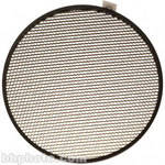 "Delta 1 Honeycomb Grid, 7"", 40 Degrees, Black"
