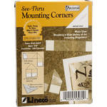 "Lineco Archival Mounting Corners - 7/8"" - Box of 100"