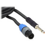 "Pro Co Sound Lifelines PowerPlus 2x 1/4"" Male to 4-Pin Speakon Speaker Cable (50')"