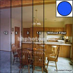 "Tiffen 4.5"" Decamired Blue Color Conversion Glass Filters (Set of 4)"