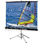 "Draper Diplomat Portable Tripod Projection Screen - 60 x 60"" - Glass Beaded"