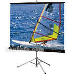 "Draper Diplomat Portable Tripod Projection Screen - 60 x 80"" - Matte White"