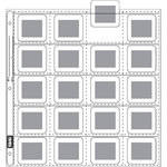 Vue-All 8301 35mm Slide Saver Archival Storage Page (Top Load, 25 Pack)