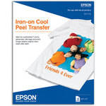 "Epson Iron-On Cool Peel Transfer Paper (8.5 x 11"", 10 Sheets)"