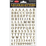 pioneer photo albums 3dl g gold letters stickers