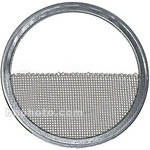 Mole-Richardson Scrim - Half Double Stainless - 15-1/2""