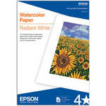 "Epson Watercolor Paper - Radiant White - 13x19"" - 20 Sheets"