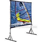 "Draper Cinefold Folding Portable Front Screen - 86 x 116"" - Matte White"