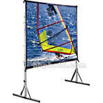 "Draper Cinefold Folding Portable Screen w/ HD Legs - 44 x 68"" - Matte White"