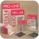 "Lineco Proline Sheet Film Sleeve - 8 x 10"" - Clear/Open Flap - 200 Pack"