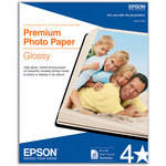 "Epson Premium Photo Paper Glossy (8 x 10"", 20 Sheets)"
