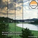 "Tiffen 5 x 6"" 3 Tobacco Soft-Edge Graduated Filter (Vertical Orientation)"