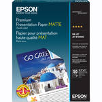 "Epson Double Sided Matte Paper 8.5x11"" - 50 Sheets"