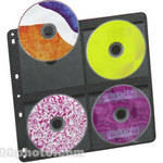 ClearFile Archival PLUS CD/DVD Page (Pack of 500)