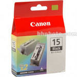 Canon BCI-15 Black Ink Tank Twin Pack