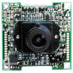 Marshall Electronics V-1205 1/3-Inch CCD Board Camera with 3.6mm f/2 Lens