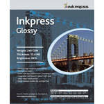 "Inkpress Media RC Glossy Inkjet Paper (240gsm) - 8.5 x 11"" (50 Sheets)"
