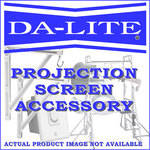 "Da-Lite Pull-Out Equipment Rack for 32"" Lexington Multi-Media Lecterns"