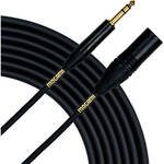 "Mogami Gold 1/4"" TRS Male to XLR Male Balanced Quad Patch Cable (3')"