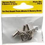 Pioneer Photo Albums Screw Posts (Four Sets with Eight Screws)