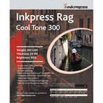 "Inkpress Media Picture Rag Cool Tone Paper (300 gsm) - 17"" x 50' Roll"