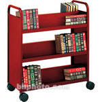 Bretford Double-Sided Mobile Book & Utility Truck (Cardinal)